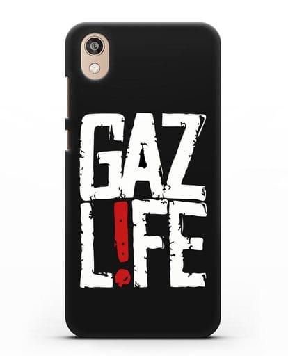 Чехол GAZ LIFE силикон черный для Honor 8S