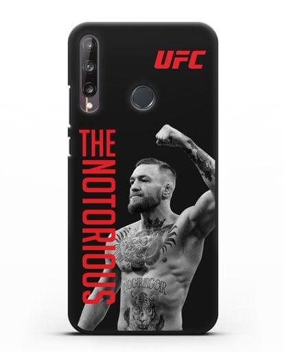 Чехол с изображением Conor McGregor The Notorious силикон черный для Huawei P40 lite E