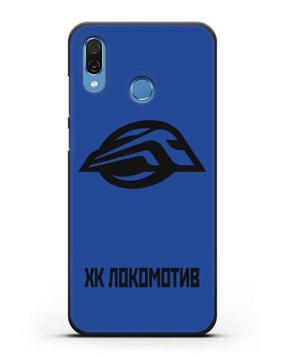 Чехол с эмблемой ХК Локомотив-Орша силикон черный для Honor Play