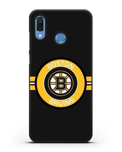 Чехол с символикой Boston Bruins силикон черный для Honor Play