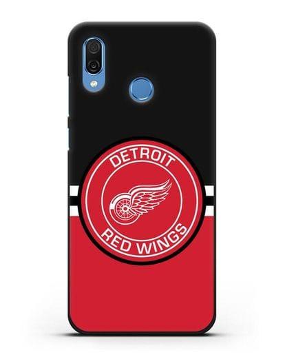 Чехол с символикой Detroit Red Wings силикон черный для Honor Play