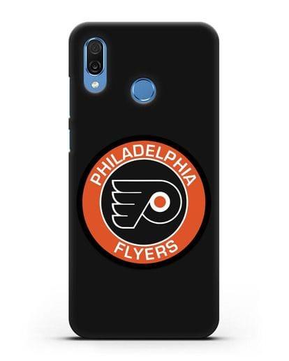 Чеxол с логотипом Philadelphia Flyers силикон черный для Honor Play