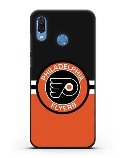 Чехол с символикой Philadelphia Flyers силикон черный для Honor Play