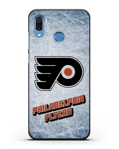Чехол с рисунком Philadelphia Flyers силикон черный для Honor Play