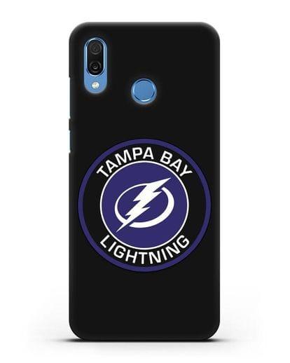 Чеxол с логотипом Tampa Bay Lightning силикон черный для Honor Play