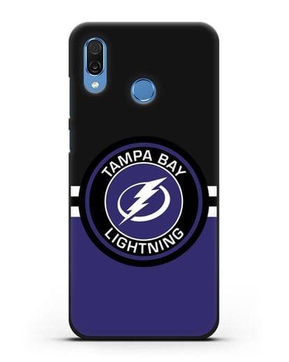 Чехол с символикой Tampa Bay Lightning силикон черный для Honor Play