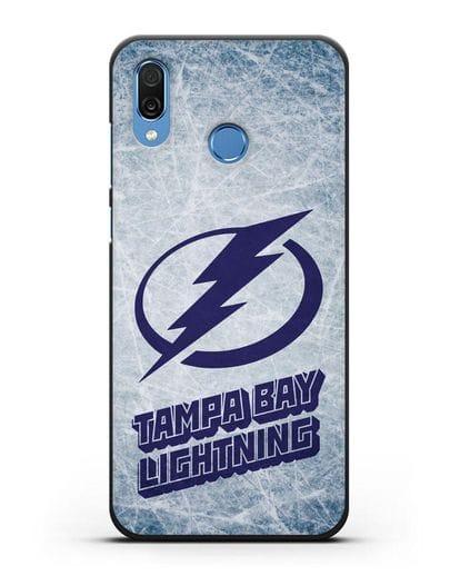 Чехол с рисунком Tampa Bay Lightning силикон черный для Honor Play