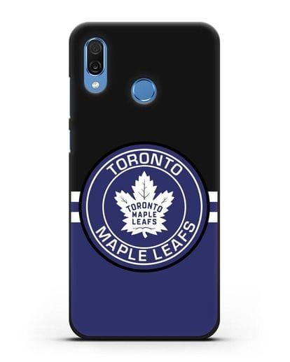Чехол с символикой Toronto Maple Leafs силикон черный для Honor Play