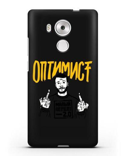 Чехол Оптимист силикон черный для Huawei Mate 8
