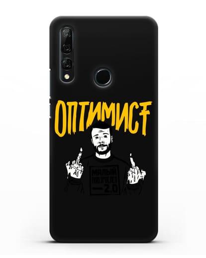 Чехол Оптимист силикон черный для Huawei Y9 Prime 2019