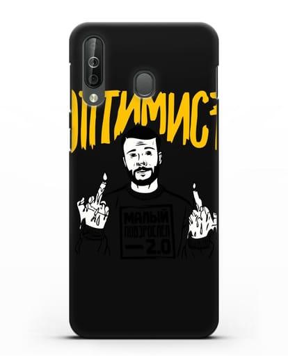 Чехол Оптимист силикон черный для Samsung Galaxy A40s [SM-A507FN]
