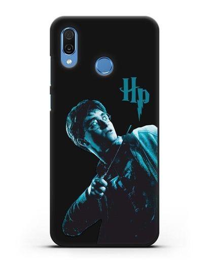 Чехол с изображением Гарри Поттера силикон черный для Honor Play
