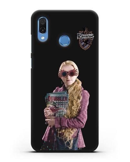Чехол с изображением Полумны Лавгуд силикон черный для Honor Play