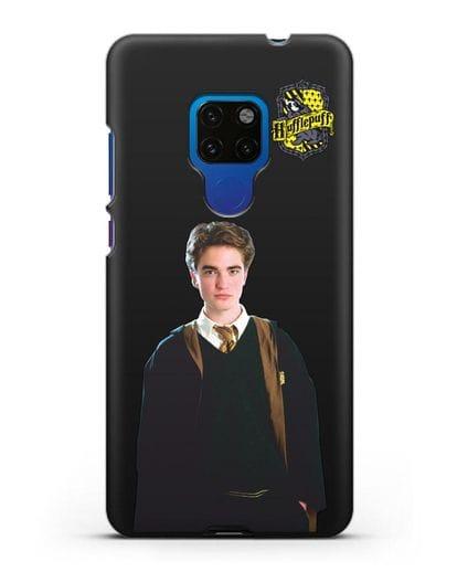 Чехол с изображением Седрика Диггори силикон черный для Huawei Mate 20