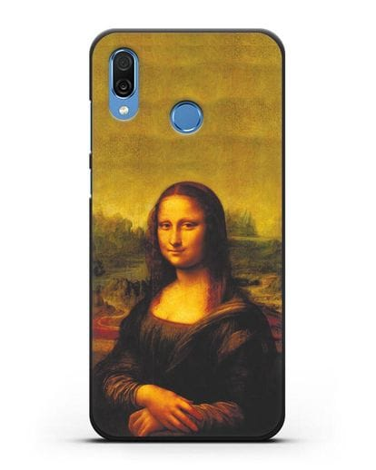 Чехол Мона Лиза Джоконда (Леонардо да Винчи) силикон черный для Honor Play