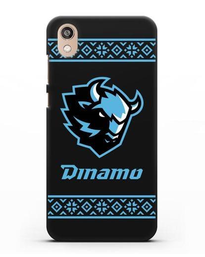 Чехол с логотипом ХК Динамо-Минск силикон черный для Honor 8S