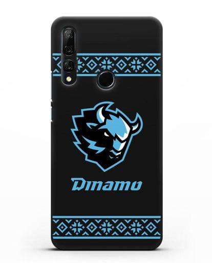 Чехол с логотипом ХК Динамо-Минск силикон черный для Honor 9X