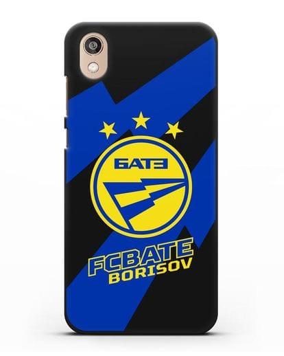 Чехол с логотипом ФК БАТЭ силикон черный для Honor 8S