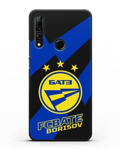 Чехол с логотипом ФК БАТЭ силикон черный для Honor 9X