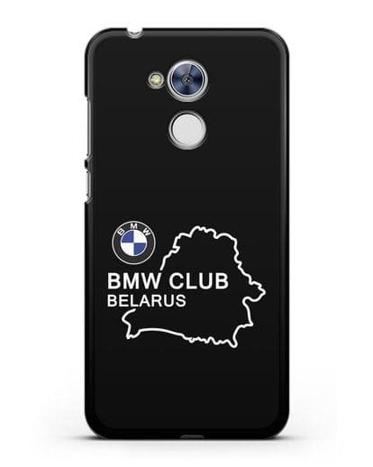 Чехол BMW Club Belarus силикон черный для Honor 6A