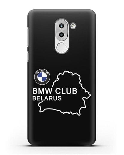 Чехол BMW Club Belarus силикон черный для Honor 6X