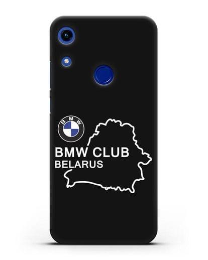 Чехол BMW Club Belarus силикон черный для Honor 8A
