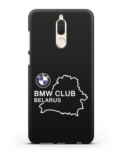 Чехол BMW Club Belarus силикон черный для Huawei Mate 10 Lite