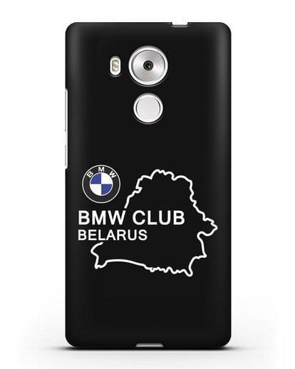 Чехол BMW Club Belarus силикон черный для Huawei Mate 8