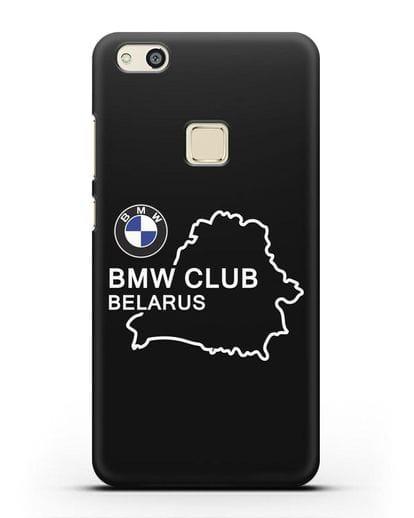 Чехол BMW Club Belarus силикон черный для Huawei P10 Lite