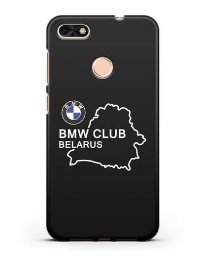 Чехол BMW Club Belarus силикон черный для Huawei P9 Lite mini