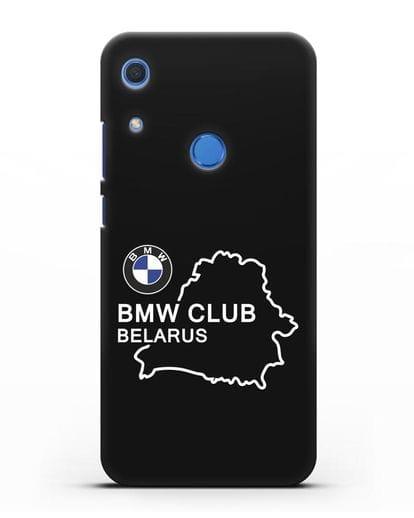 Чехол BMW Club Belarus силикон черный для Huawei Y6s