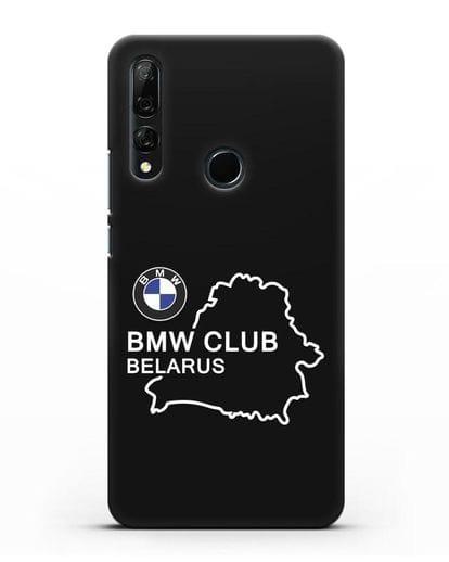 Чехол BMW Club Belarus силикон черный для Huawei Y9 Prime 2019