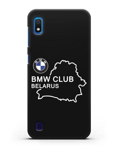 Чехол BMW Club Belarus силикон черный для Samsung Galaxy A10 [SM-A105F]