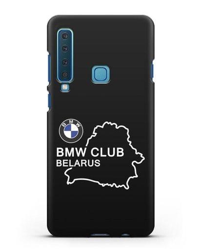 Чехол BMW Club Belarus силикон черный для Samsung Galaxy A9 (2018) [SM-A920]