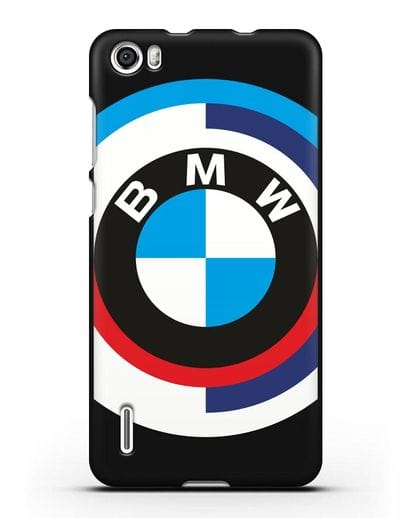 Чехол с логотипом BMW силикон черный для Honor 6