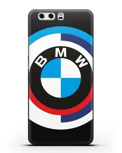 Чехол с логотипом BMW силикон черный для Huawei P10