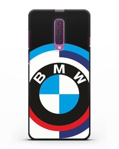 Чехол с логотипом BMW силикон черный для Samsung Galaxy A90 [SM-A908N]