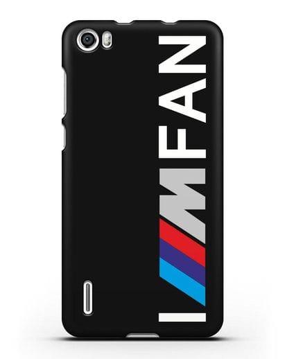Чехол BMW M серии I am fan силикон черный для Honor 6