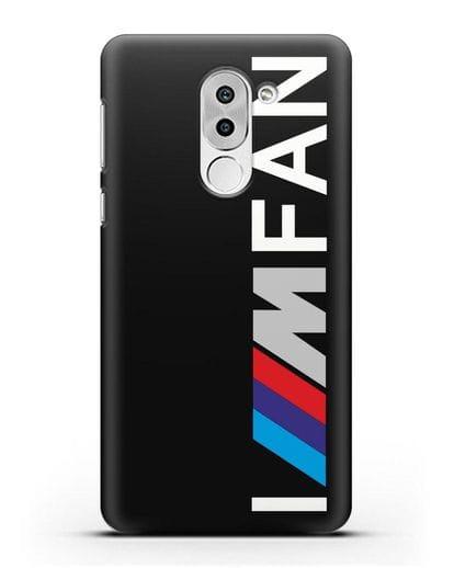 Чехол BMW M серии I am fan силикон черный для Honor 6X