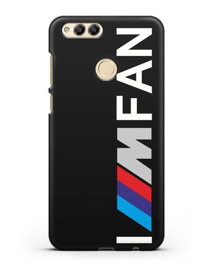 Чехол BMW M серии I am fan силикон черный для Honor 7X