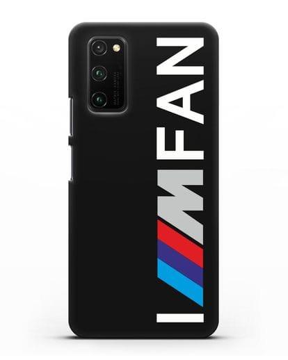 Чехол BMW M серии I am fan силикон черный для Honor View 30 Pro