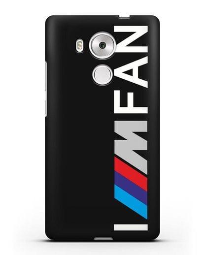 Чехол BMW M серии I am fan силикон черный для Huawei Mate 8