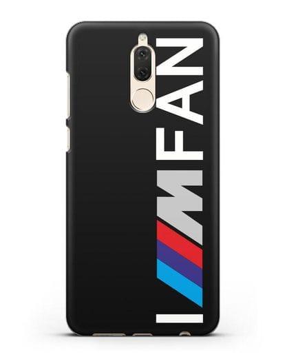 Чехол BMW M серии I am fan силикон черный для Huawei Nova 2