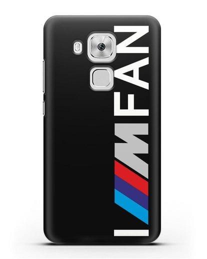 Чехол BMW M серии I am fan силикон черный для Huawei Nova Plus