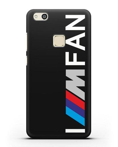 Чехол BMW M серии I am fan силикон черный для Huawei P10 Lite