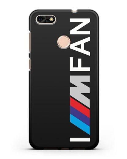 Чехол BMW M серии I am fan силикон черный для Huawei P9 Lite mini