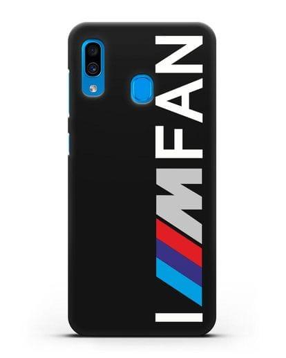 Чехол BMW M серии I am fan силикон черный для Samsung Galaxy A30 [SM-A305FN]
