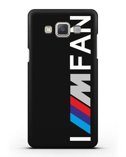 Чехол BMW M серии I am fan силикон черный для Samsung Galaxy A7 2015 [SM-A700F]