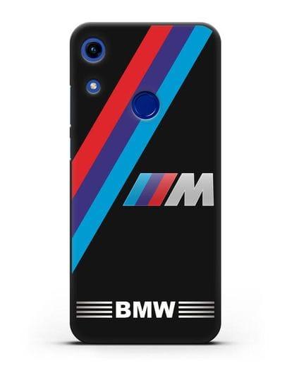Чехол с логотипом BMW M Series силикон черный для Honor 8A