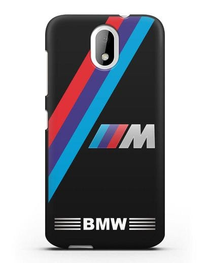 Чехол с логотипом BMW M Series силикон черный для HTC Desire 526